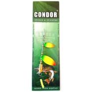 Блешня-вертушка подвійна Condor, колір 187, 6гр