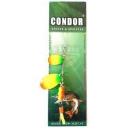 обертова подвійна блешня Condor, колір 187, 8гр