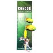 Блешня-вертушка подвійна Condor, колір CB03, 15гр