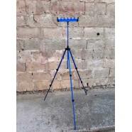 Фидерная телескопічна підставка Feima з гребінкою на 6 уд.