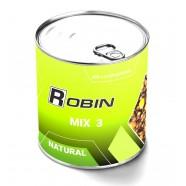 Наживка МИКС 3-х зерен ROBIN Натурал ж/б 900мл.