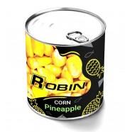 Наживка Кукуруза ROBIN ж/б 200мл.