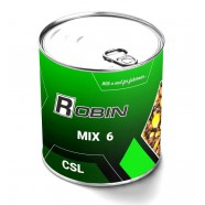 Наживка МИКС 6-ти зерен ROBIN ж/б 900мл.