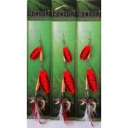 Блешня-вертушка подвійна Condor, колір 197, 14г