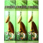 Блесна вращающаяся двойная Condor (шумовая), цвет 116, 10гр