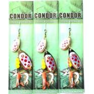 Блесна-вертушка двойная Condor, цвет 120, 10гр