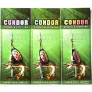 Блешня обертова Кондор, колір 120, 6г