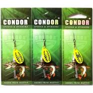 Блешня-вертушка Кондор, колір 198, 6г