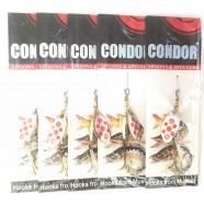 Вращающаяся блесна Condor, цвет 120, 5гр