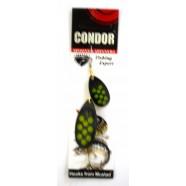 Вращающаяся двойная блесна Condor, цвет 183, 16гр