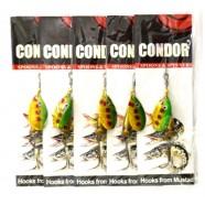 Блесна-вертушка Condor, цвет 108, 6гр