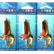 Блесна колеблющаяся Condor, цвет 14, 11гр