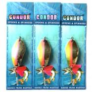 Блесна колеблющаяся двойная Condor, цвет 15, 18гр