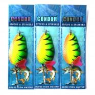 Блесна-колебалка двойная Кондор, цвет 40, 24гр