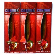 Колеблющаяся блесна, Condor, двойная, цвет 17, 21гр