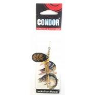 Блешня-вертушка Condor, колір 194, 8г