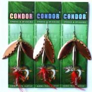 Блесна вращающаяся двойная Condor, цвет 204, 20гр