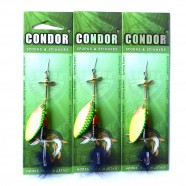 Блесна-вертушка Кондор, цвет 405, 12гр