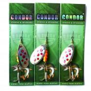 Блесна-вертушка двойная Condor, цвет 120, 15гр
