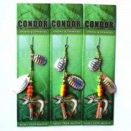 Блесна-вертушка двойная Condor, цвет В3, 8гр
