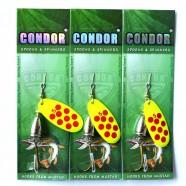 Вращающаяся блесна Condor, цвет 196, 12гр