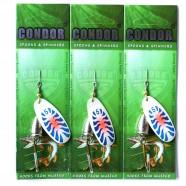 Блесна вращающаяся Condor, цвет 195, 12гр
