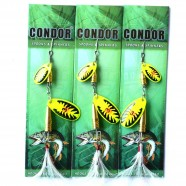 Блесна вращающаяся двойная Condor, цвет 199, 10гр
