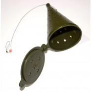 Кормушка для рыбы отвесная ADAMS, оснащенная, длина 100мм
