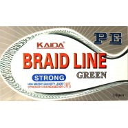 Шнур Kaida BRAID LINE, серый,  110м