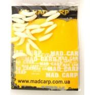 Силиконовая наживка рыболовная Mad Carp Опарыш светонакопительный, 20 шт