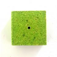 Кубик для макушатника с отверстием 45х45х20 мм