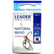 Крючки Leader Natural Bend BN