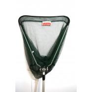 Подсак для рыбы БратФишинг треугольный складной с телескопической ручкой, Ø 50 см