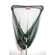 Подсак рыболовный BratFishing треугольный складной, ручка телескопическая, Ø 60 см