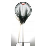 Рыболовный подсак BratFishing круглый складной, ручка телескопическая, Ø 50 см