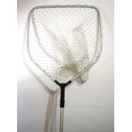 Подсак для рыбы BratFishing пятиугольный, ручка телескопическая, Ø 55 см, тип 14