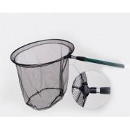 Подсак для рыбы BratFishing Ø 50 см, складной, телескопическая рукоятка, длина 1.80 м