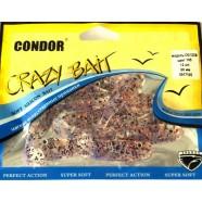 Виброхвост силиконовый Crazy bait CH21/2CM, 60мм
