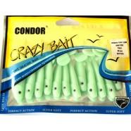 Виброхвост Кондор Crazy bait CH2 1/2CM, длина 65мм