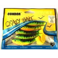 Приманка виброхвост Condor Crazy bait CH3.5RM, 90мм