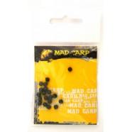 Шарик стопорный Mad Carp 4 мм (силикон) болотный 20 шт