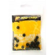 Стопорный шарик Mad Carp 6 мм (силикон) болотный 20 шт