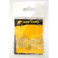 Шарик стопорный Mad Carp 6 мм полупрозрачный (силикон) 20 шт