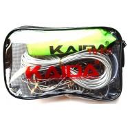 Кукан Kaida YS 510 с поплавком, 10 карабинов