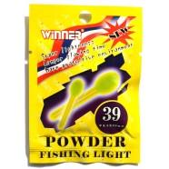 Светлячек на поплавок Winner Сірник, 4,5*39мм, 2шт