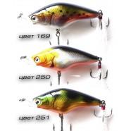 Воблер для рыбалки Кондор Young Figaro, 60мм, 13г, 0-2м