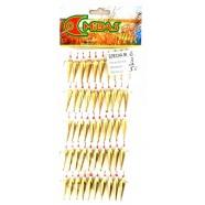 Блесна для зимней рыбалки Милдас №6,  средняя, 3 кр., 50шт