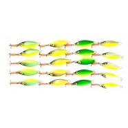 Блесна для зимней рыбалки Милдас рыбка с подвесным тройником, 20шт