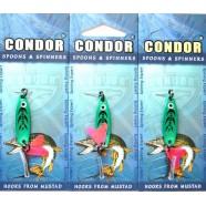 Блесна колеблющаяся Кондор, цвет 92, 5гр