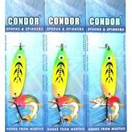Блесна колеблющаяся Кондор, цвет 98, 13гр